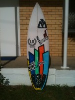 Luke's board